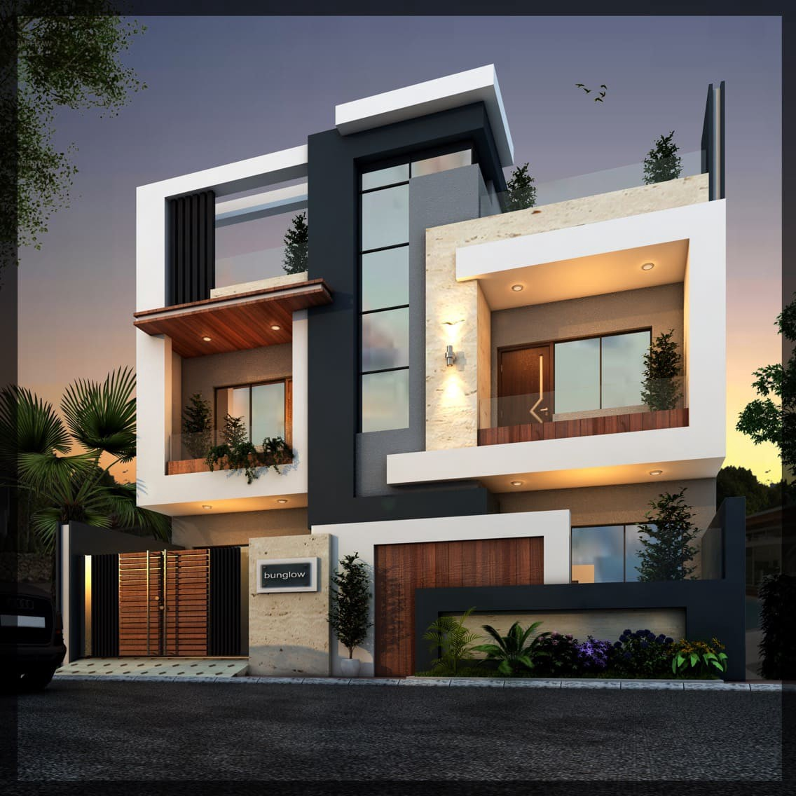 Best Modern House. Modern House Elevation Is The Modern