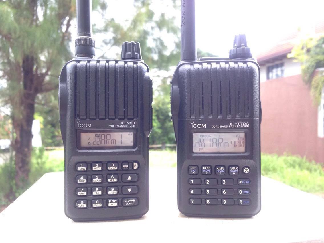 Icom IC-V80 vs  Icom IC-T70A: Is it worth the price difference?