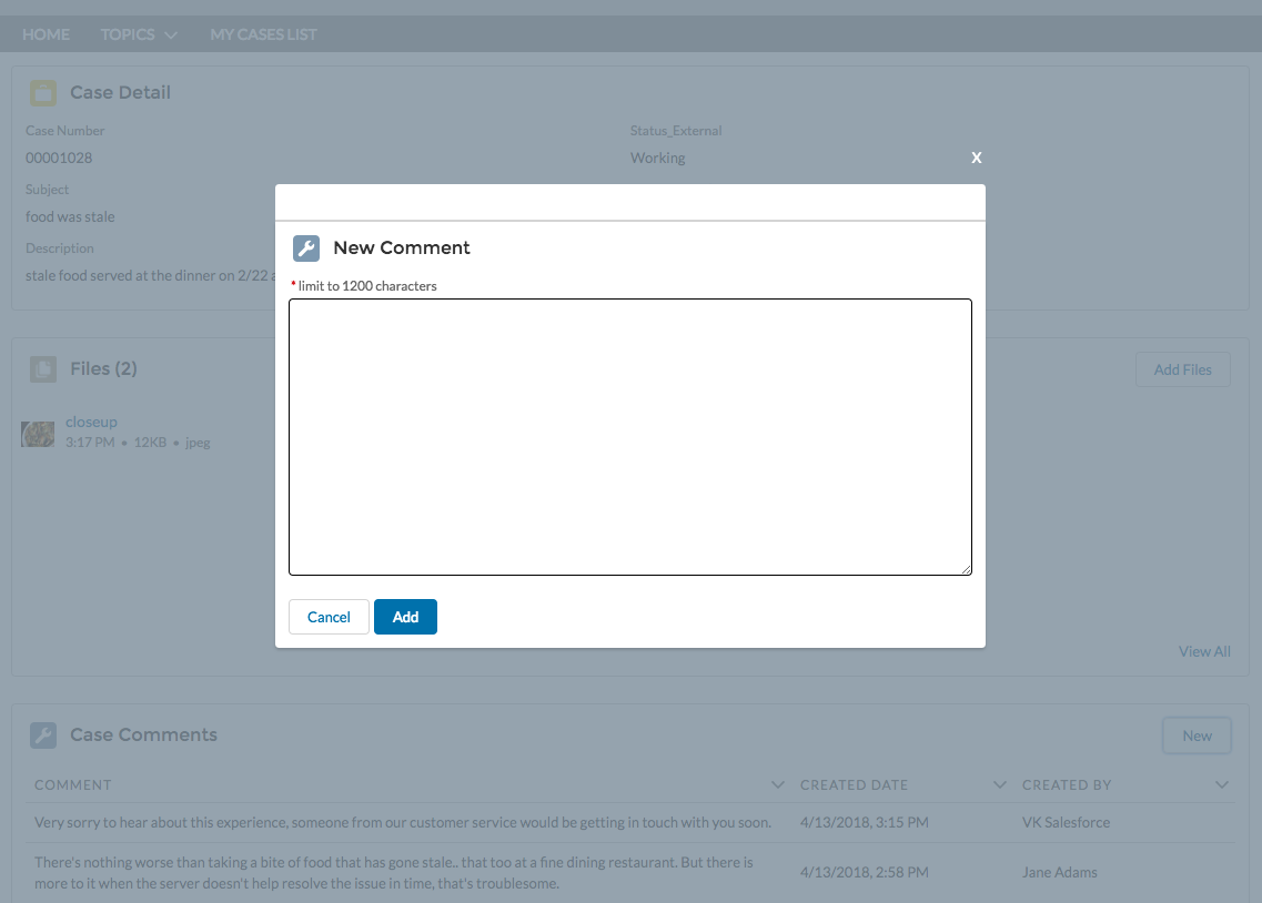 Customize Salesforce Community with Lightning Components