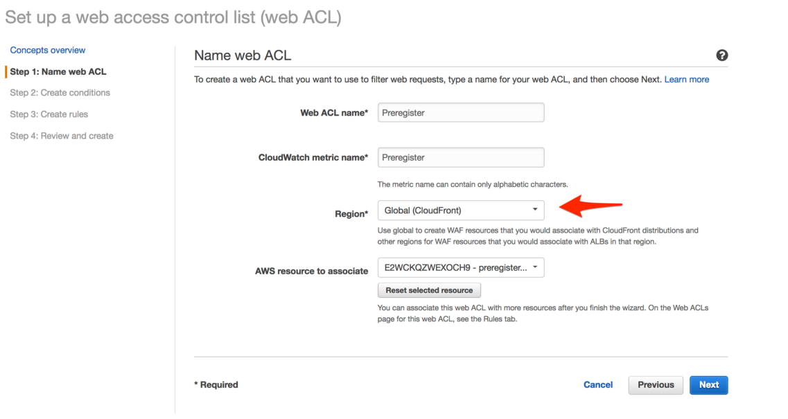 IP Whitelisting for Static WebSites with CloudFront and WAF