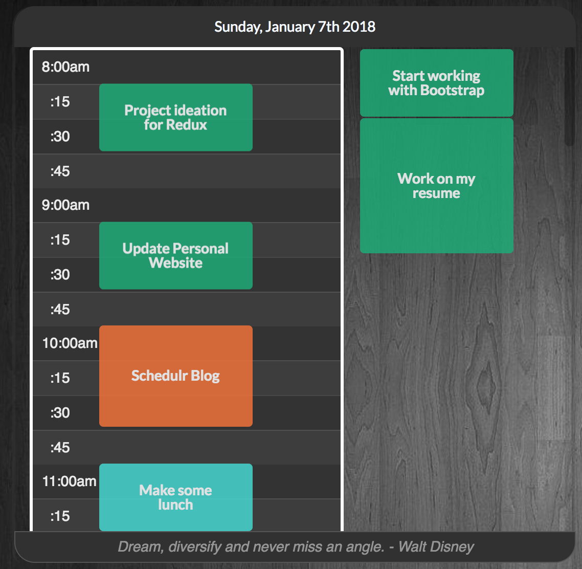 Creating Schedulr, a Drag and Drop React Day Planner