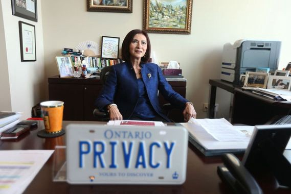 Canadian Ann Cavoukian, author of privacy-by-design