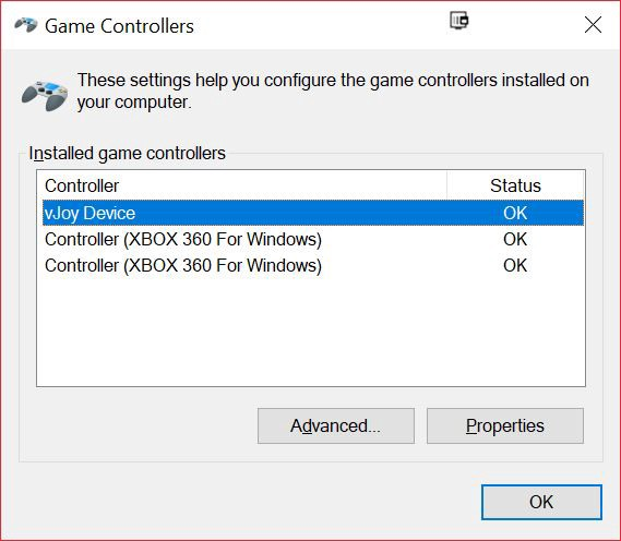 UCR X360 Controller Support for Multiplayer from Single HID