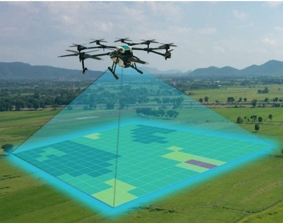 Drone Aerial Mapping and Monitoring Nature