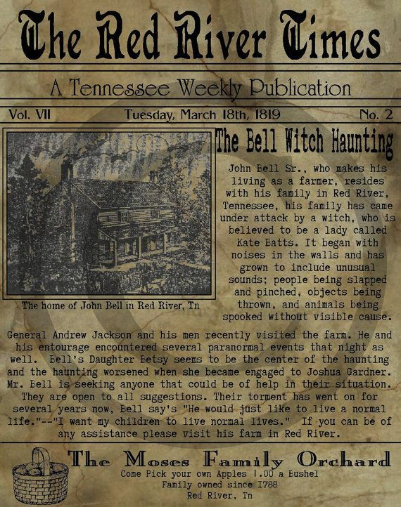 This Famous Bell Witch Story Is Darker Than Any Horror Movie