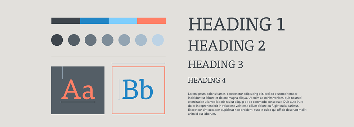 All about creating design style guides