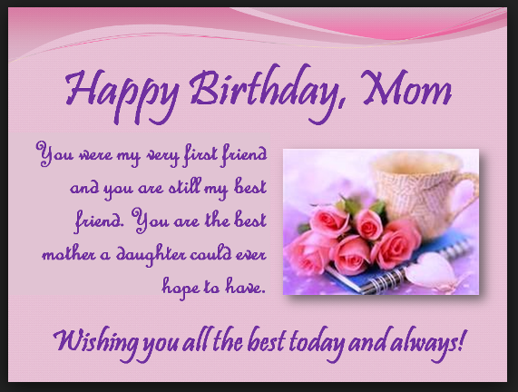 Its Best Not To Keep Count Of How Many You Have And Just Enjoy Them Instead Happy Birthday The Sweetest Mother I Know
