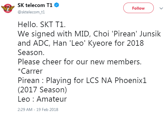 The Bang roster dilemma and the end of SKT's second age