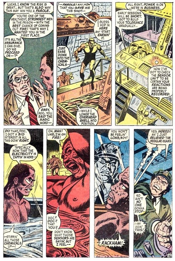 What are Luke Cage's notable weaknesses? - Thaddeus Howze