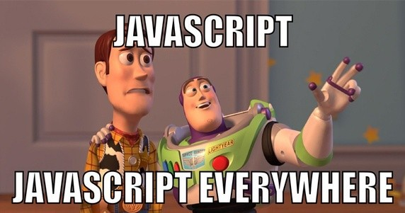 Javascript is everywhere