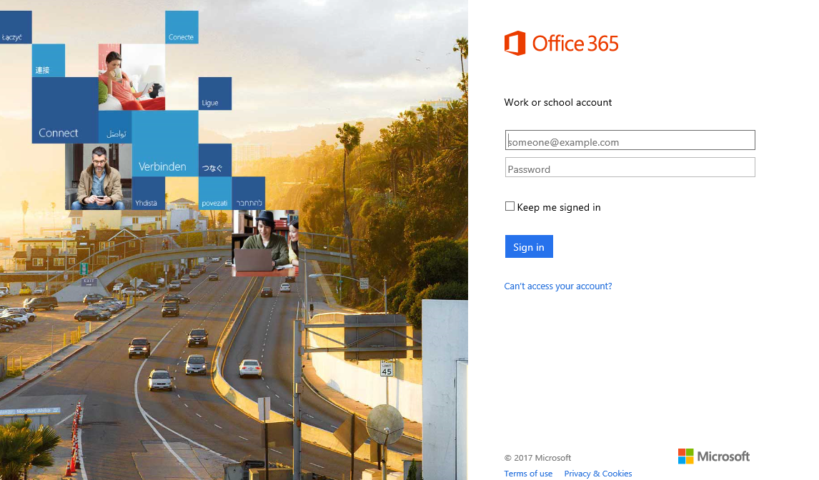 Simplify Office 365 authentication to improve the end-user