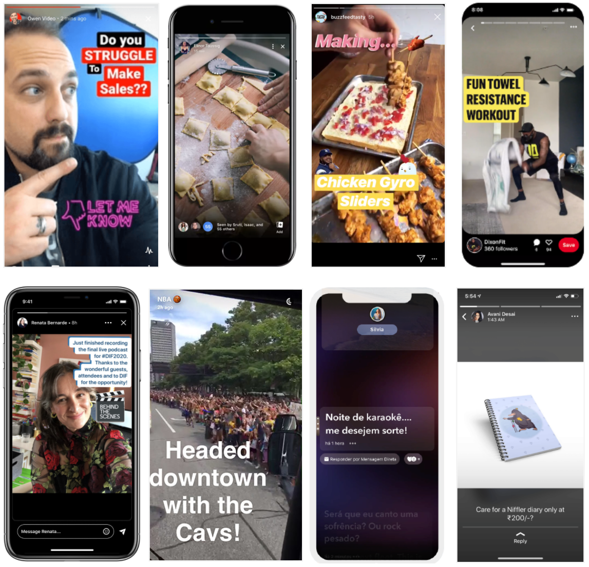 Why media formats (like Snapchat Stories and TikTok music videos) become hits?