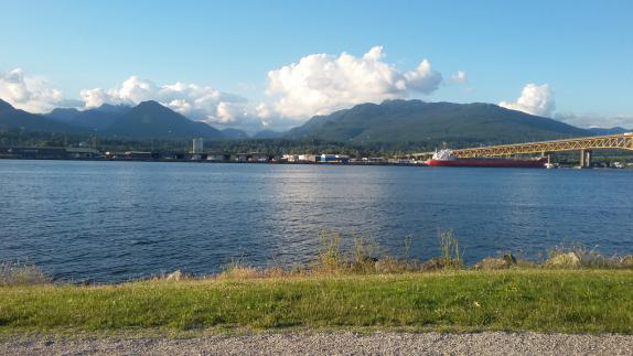 The Port of Vancouver, British Columbia