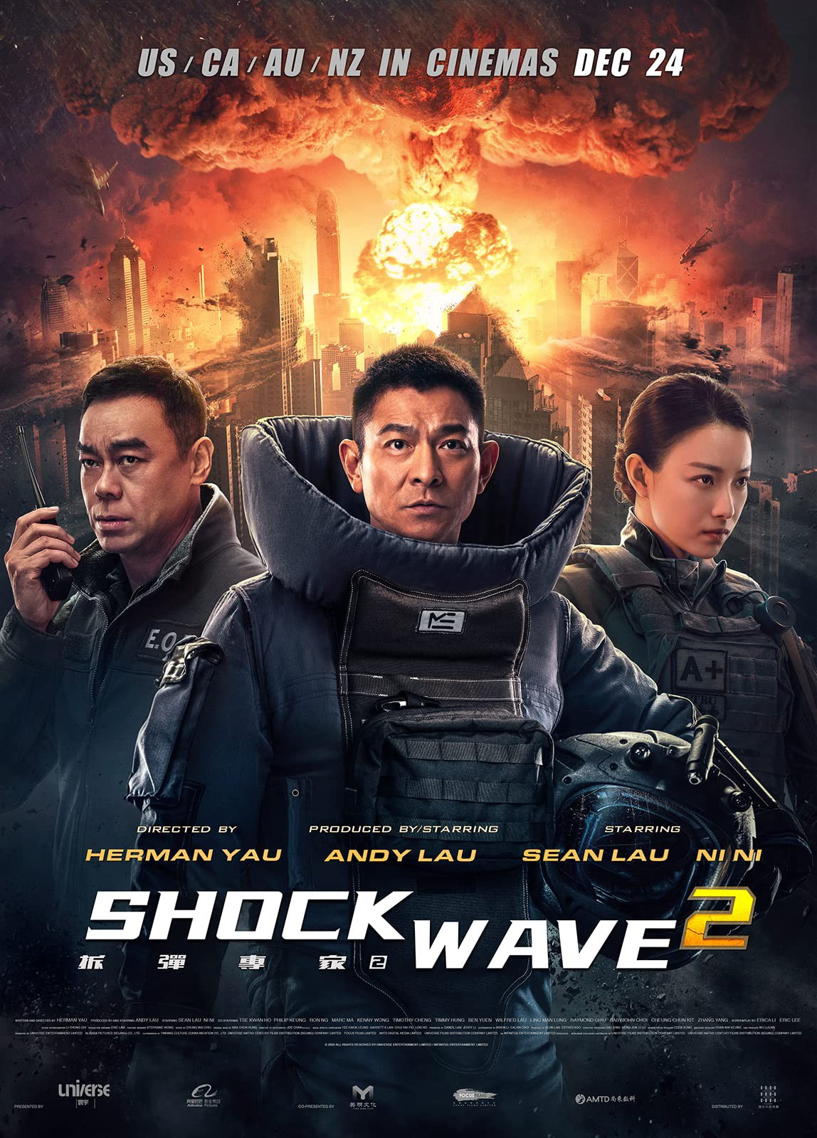 Shock Wave 2 (2020) Dual Audio Hindi 400MB HC HDRip 480p x264
