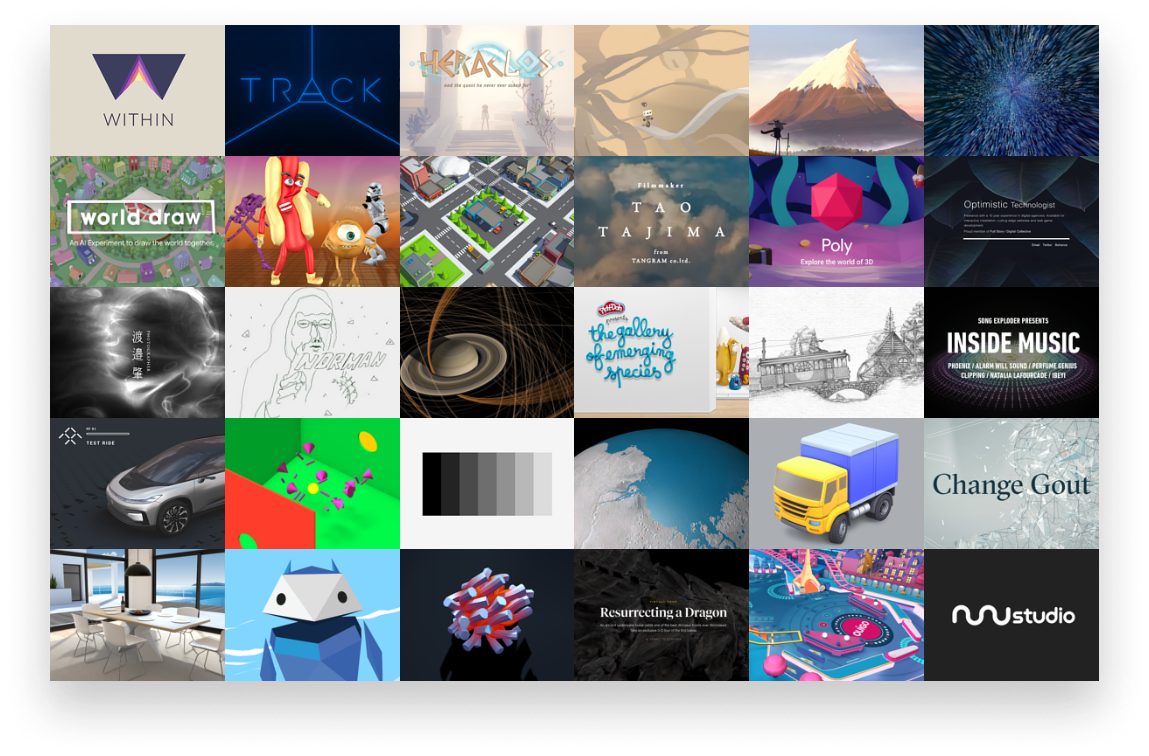 Examples on three.js
