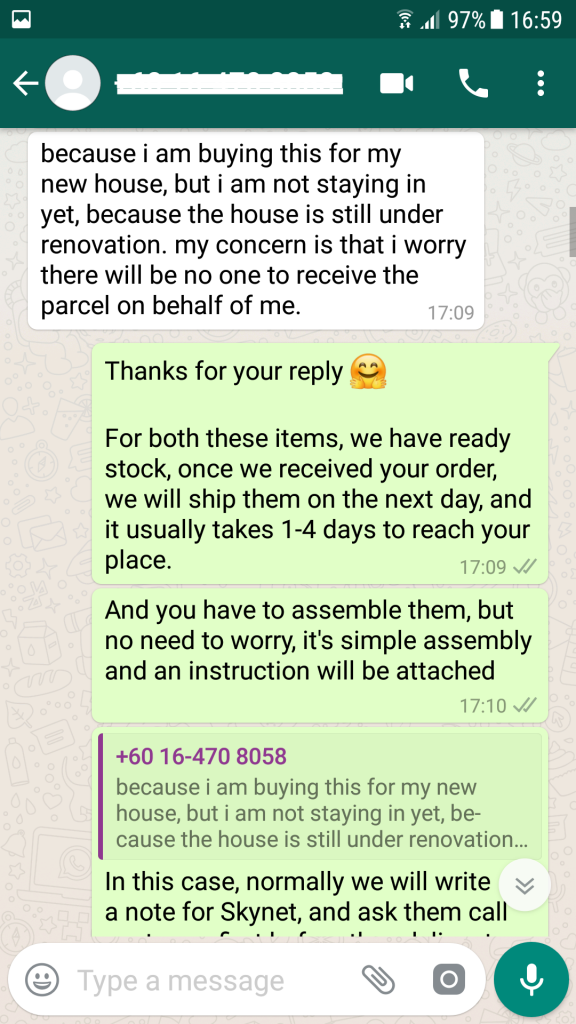Scout and Whatsapp Recover Ecommerce Sales