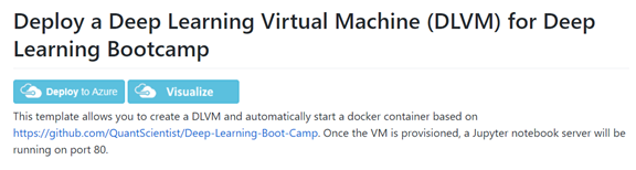 A step by step guide to starting Deep Learning Virtual Machine (DLVM