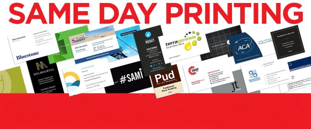best same day business cards printing service in new york - Same Day Business Cards