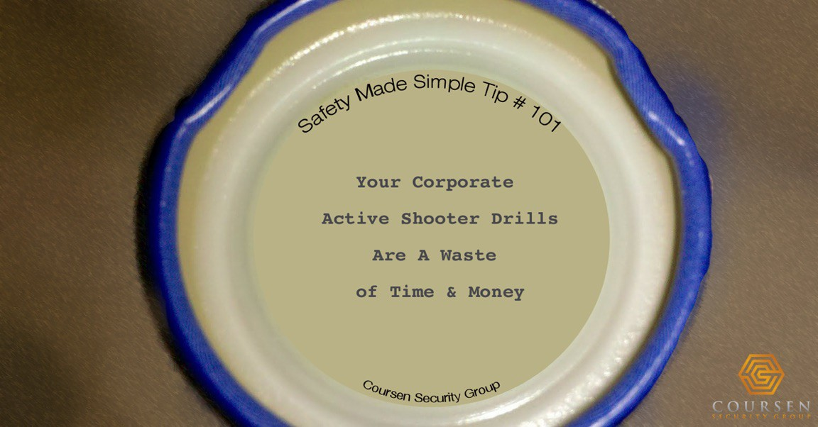 Active Shooter Drills Are A Waste Of Time And Money