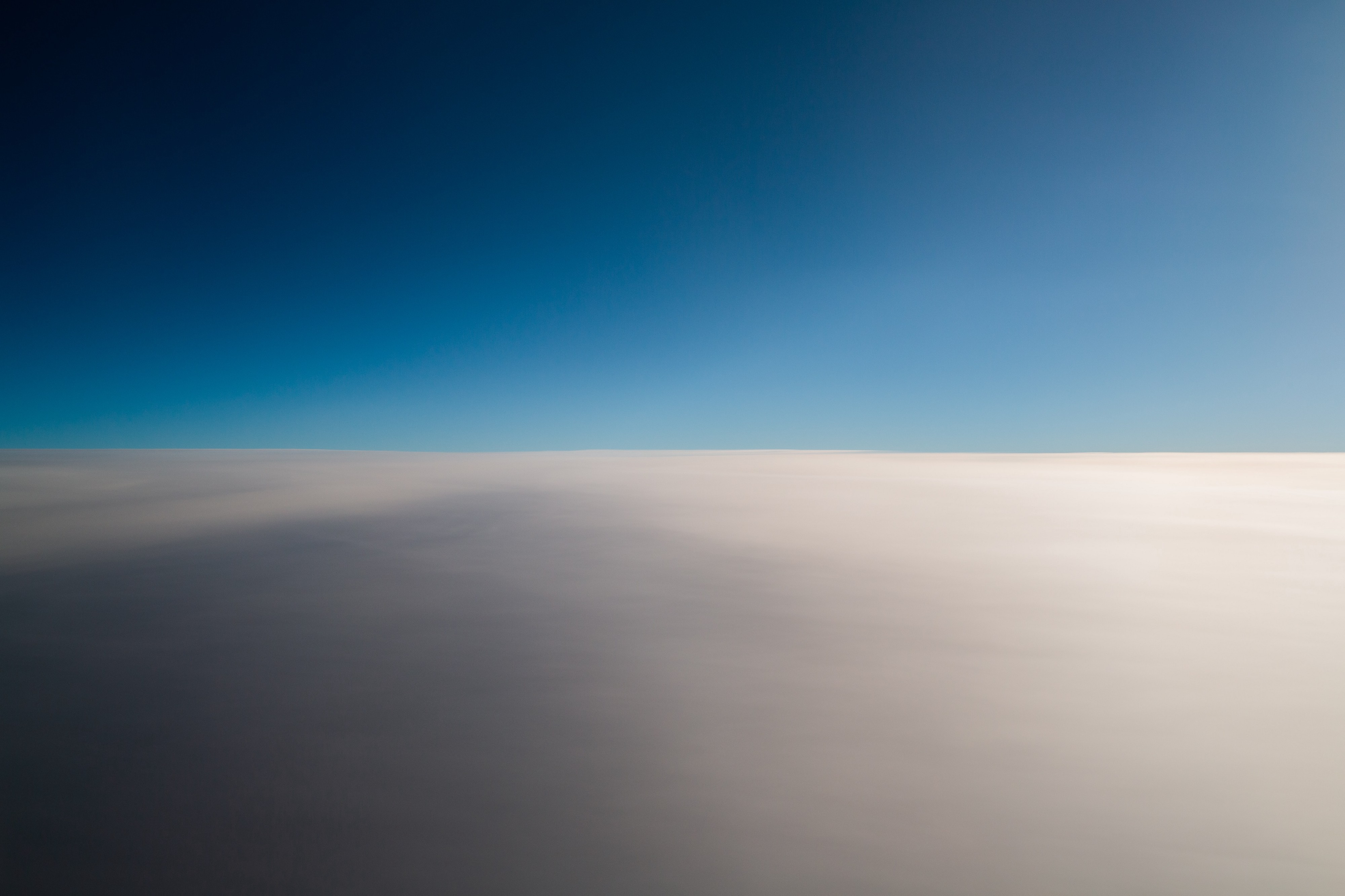 Horizon of skies and clouds, title photo