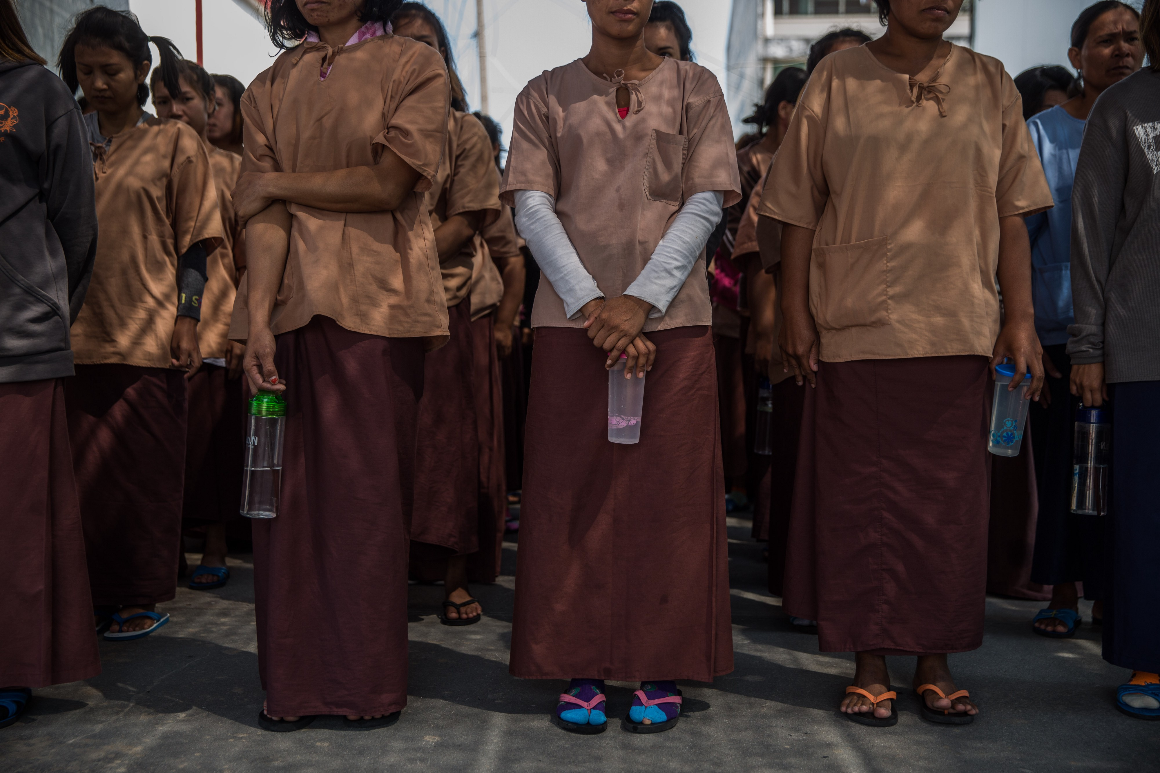 A US-style drug war brings a terrible cost: Thai prisons