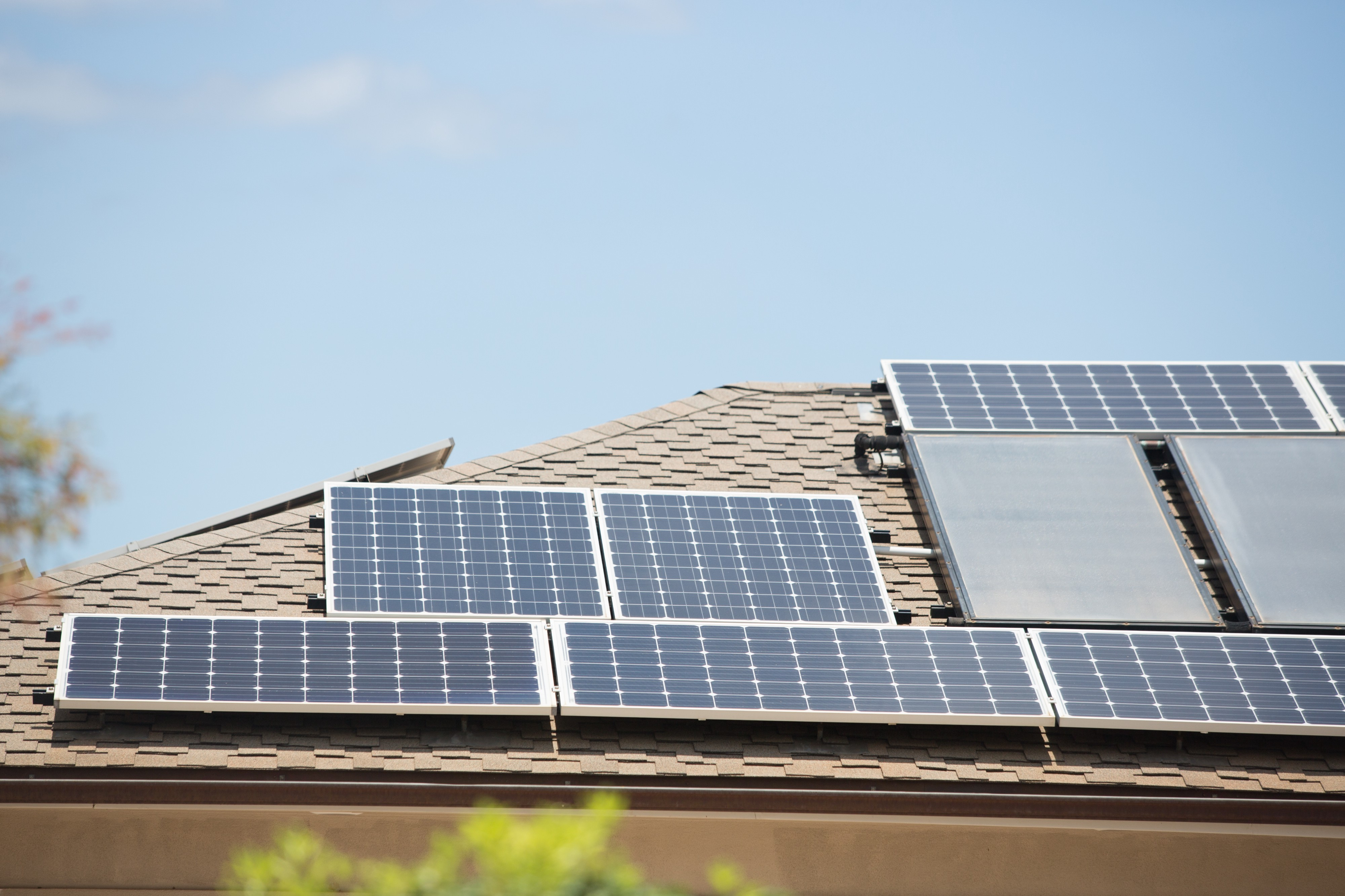 Apply online to install rooftop solar under our Customer