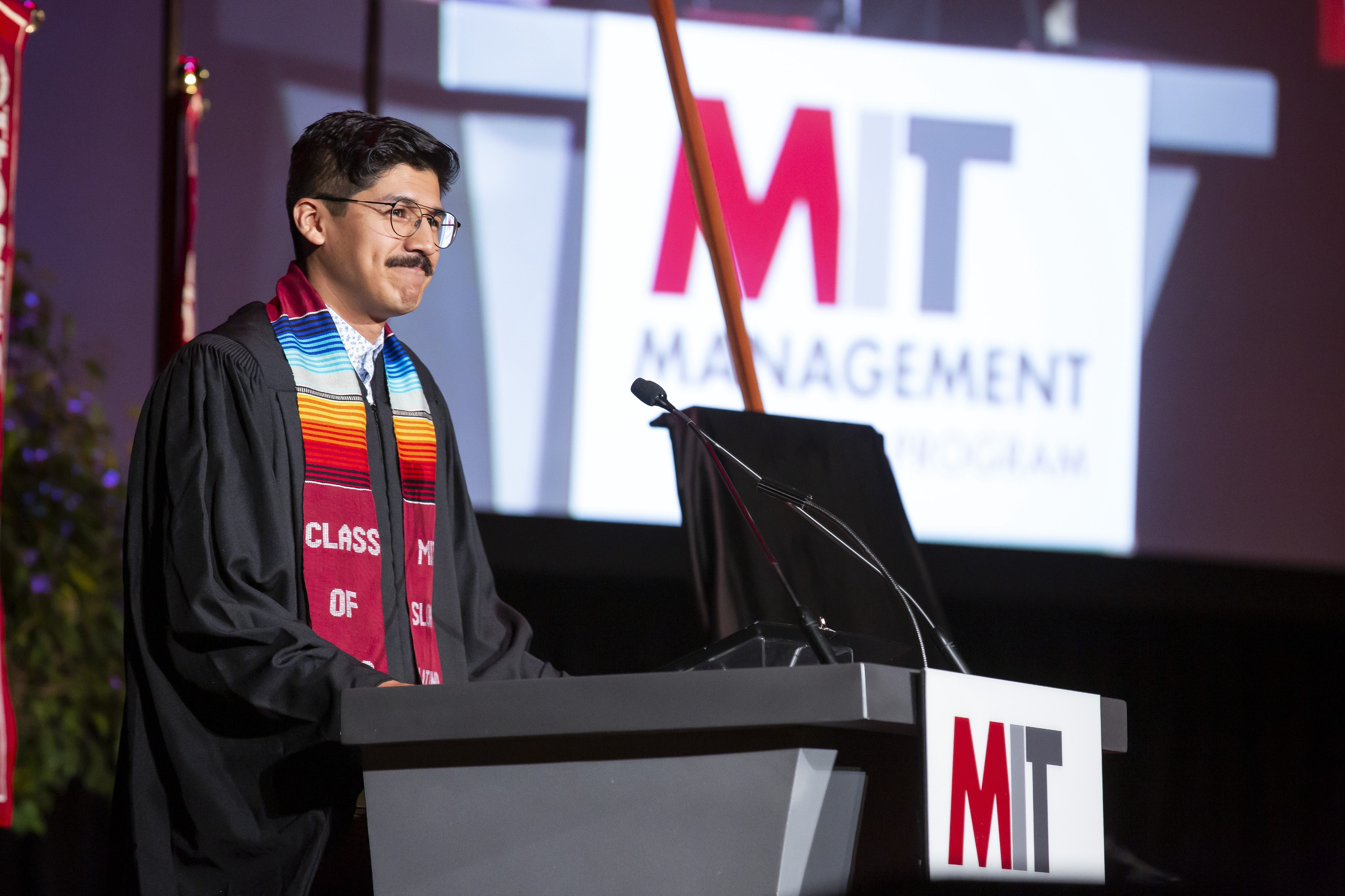 Delivering the MIT Sloan MBA 2019 Convocation Speech*