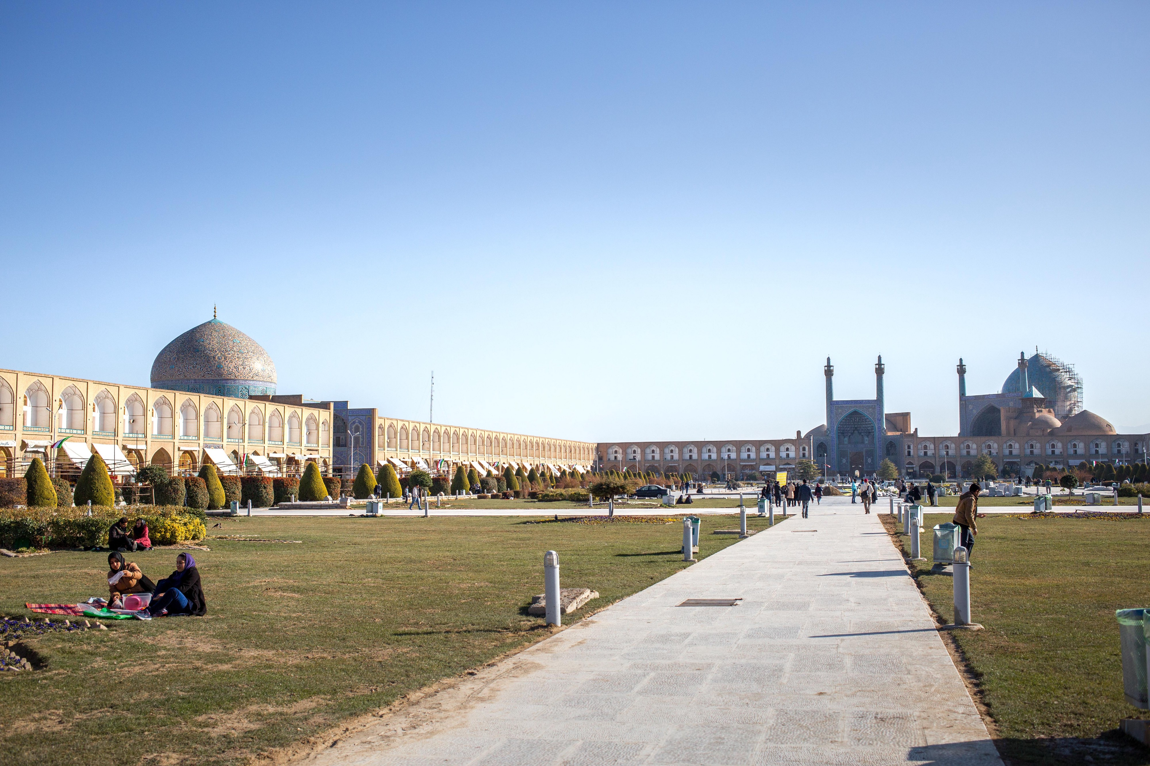 Naghsh-e Jahan Square, also known as Imam Square