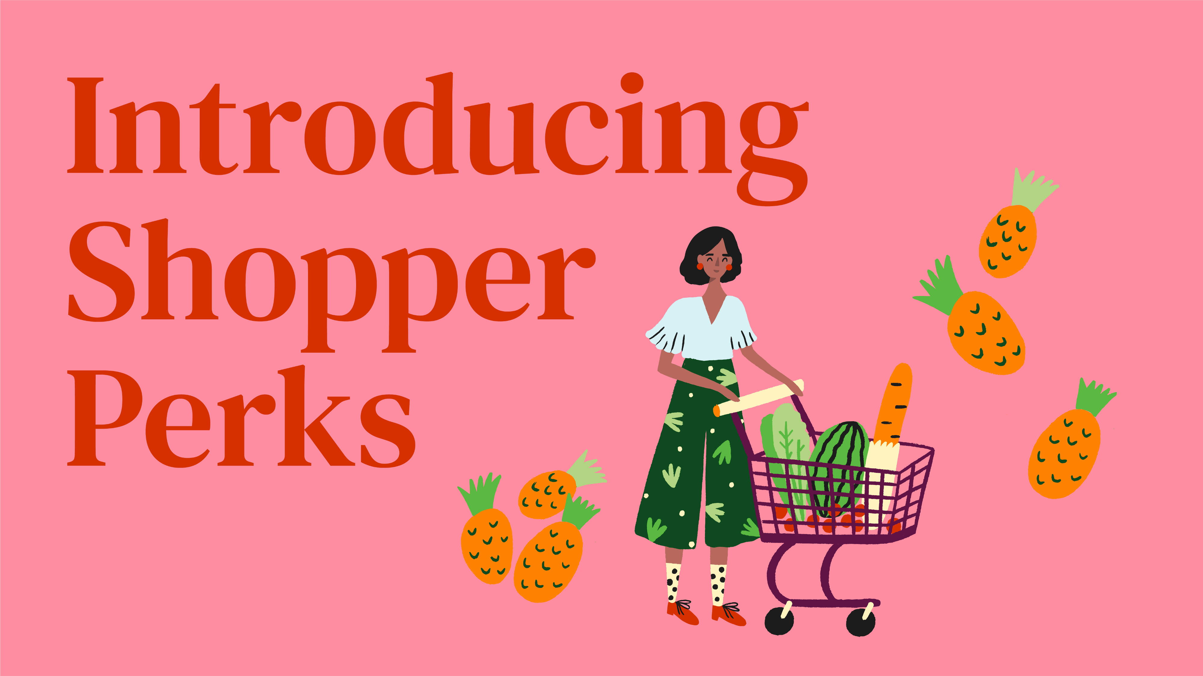 Introducing New Shopper Perks For A More Holistic Shopper