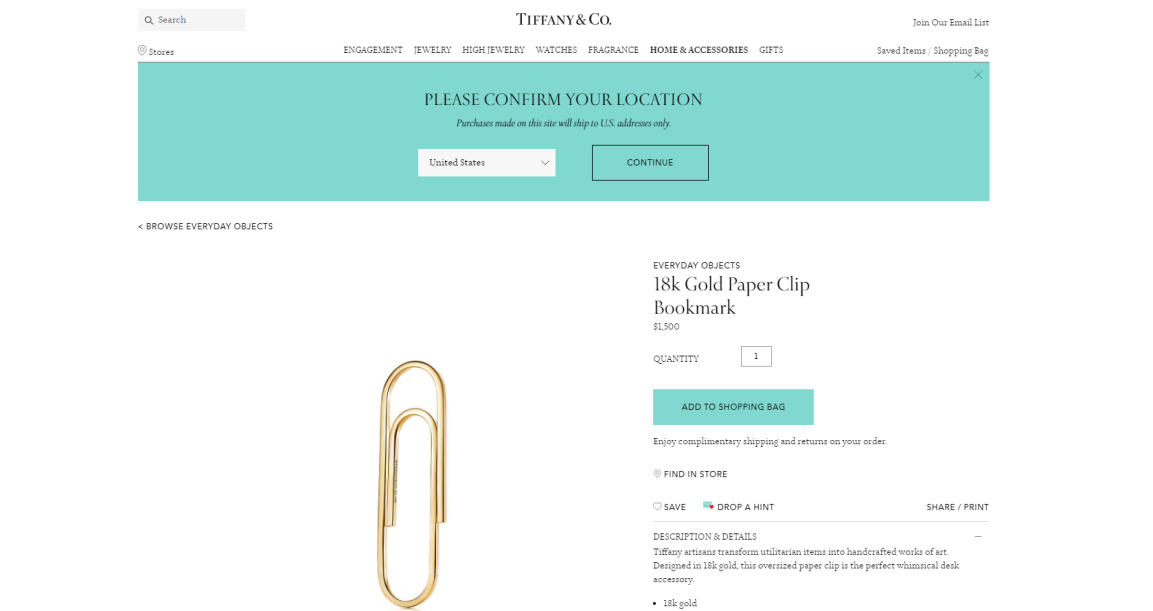 Tiffany Draw Consumer S Attention With Its 1500 Paper Clip Look Into Luxury Brands Strategy Change By Xin Dai Medium