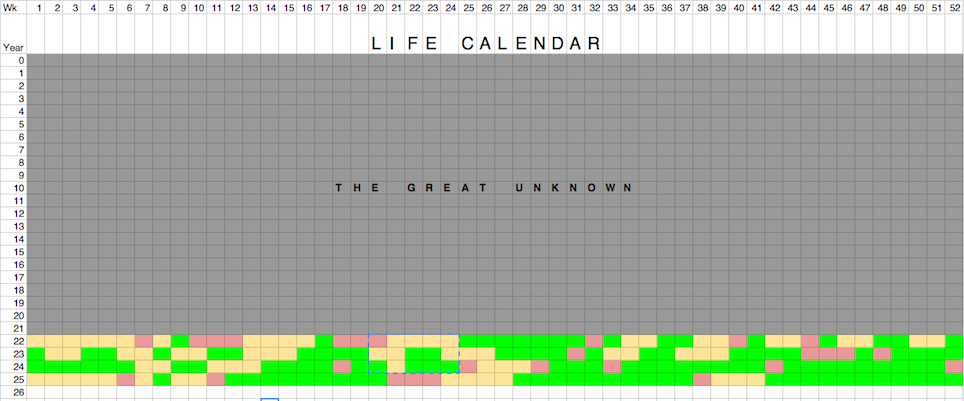 How To Chart Your Success Through Life Week By Week