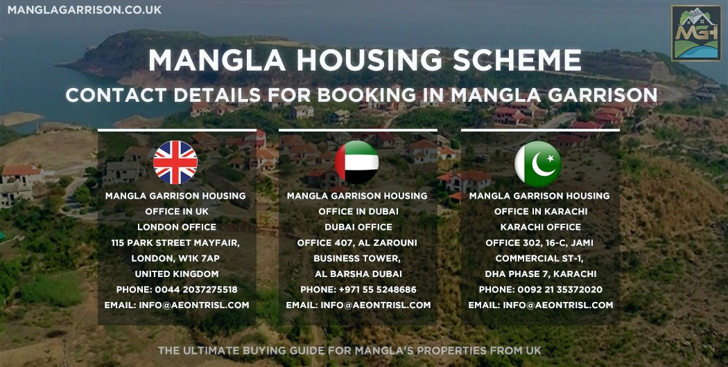 Contact Details For Booking In Mangla Garrison