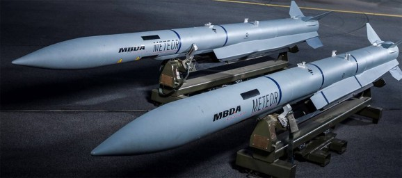 MBDA's Meteor — The Most Advanced Beyond-visual-range Air-to-Air