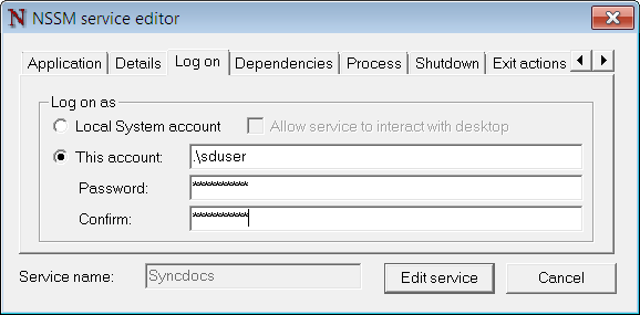 How to sync Google Drive as a Windows Service - syncdocs
