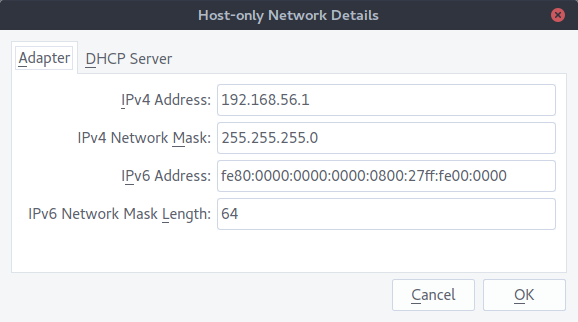 How to build Ubuntu Server in VirtualBox on host-only