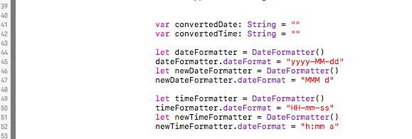 Using DateFormatter to Format Dates and Times from APIs