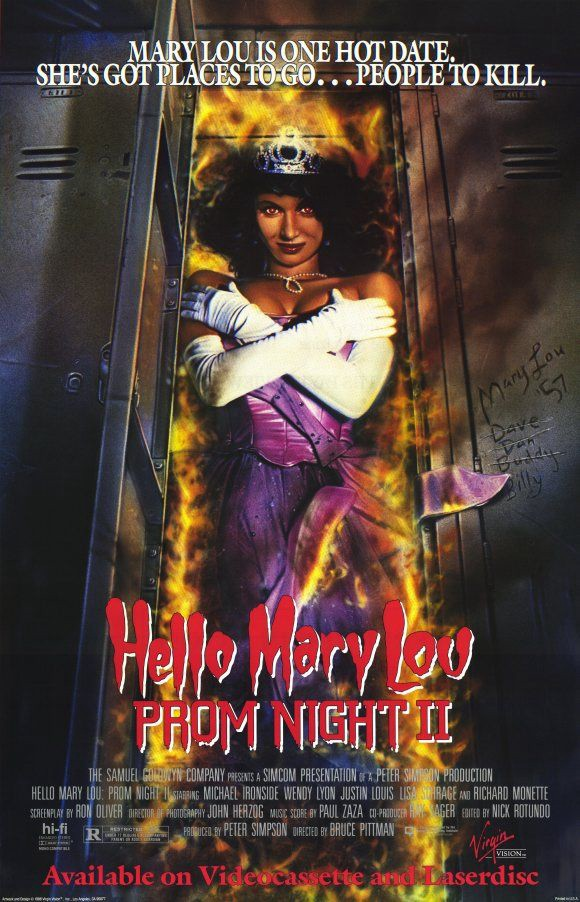 Movie Review Hello Mary Lou Prom Night Ii 1987 By Patrick J Mullen As Vast As Space And As Timeless As Infinity Medium