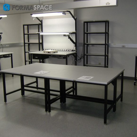 tech lab furniture for electronics repair maintenance facility