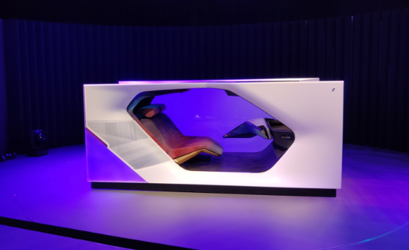 The prototype of the BMW i Interaction Ease at the CES Las Vegas 2020