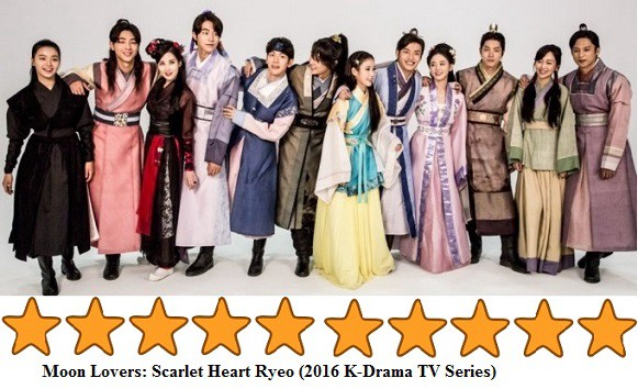 Korean Drama: TV Series: Moon Lovers: Scarlet Heart Ryeo (2016)