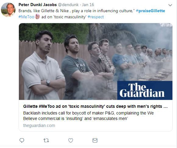 Why Gillette's New Ad Is Toxic - NAR P - Medium