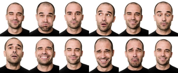 detecting emotion in faces using geometric features