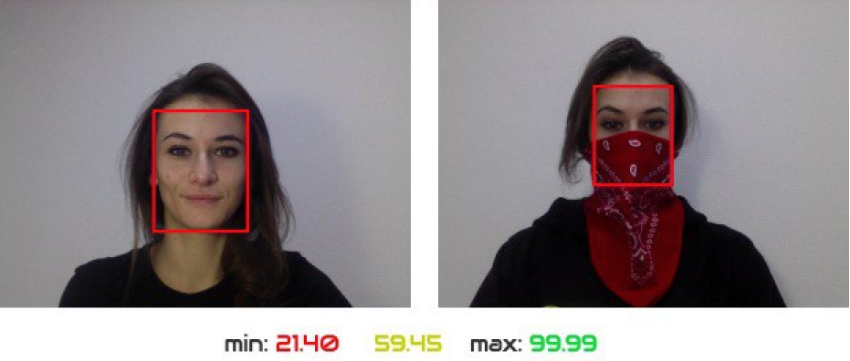 SVORT recognizes users in masks
