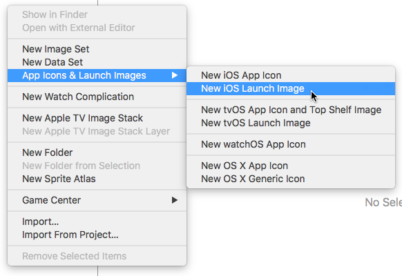 Xcode will generate the contents json  - Sean Williams - Medium
