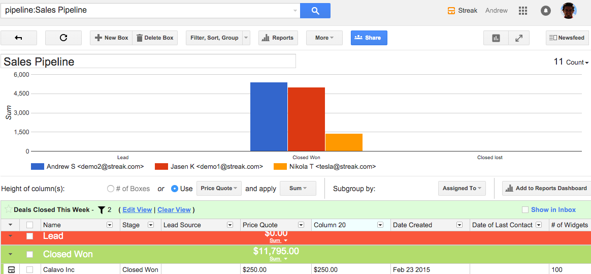 Reports Update: Use a Saved View to Create a Custom Chart!