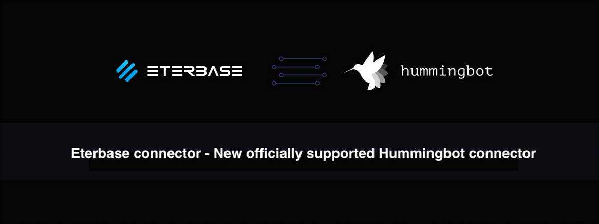 Eterbase connector—New officially supported Hummingbot connector