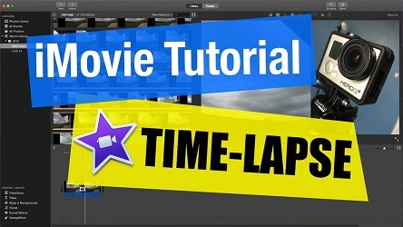 How to Make Time-Lapse in a Video using the iMovie App