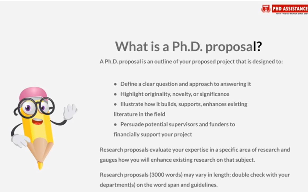 What is phd research proposal