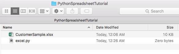 Intro to Reading and Writing Spreadsheets with Python