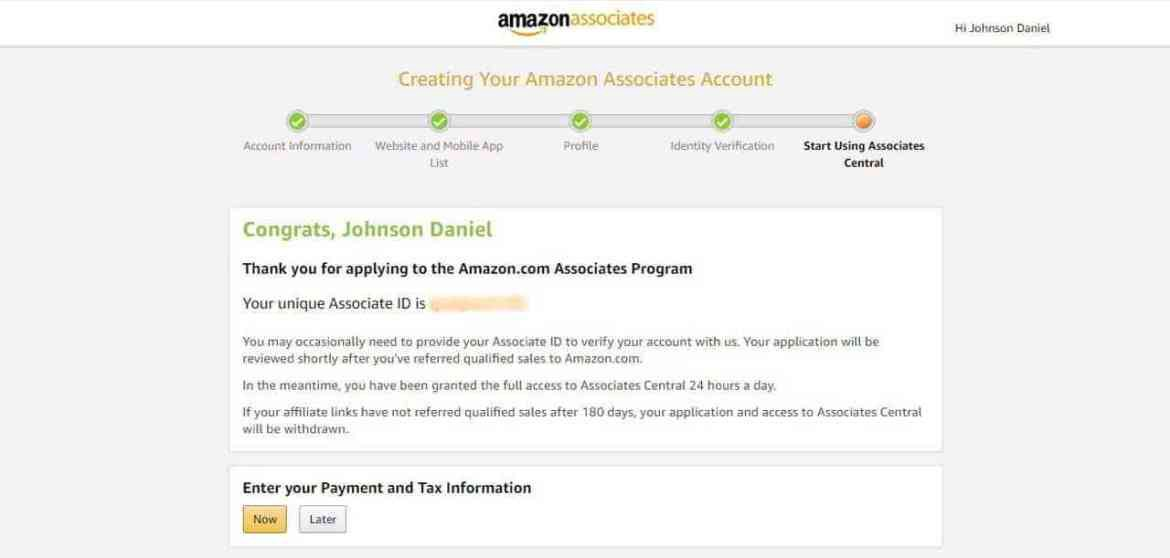 How to join the Amazon Affiliate program in Nigeria